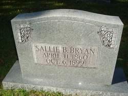 """Sarah Julia """"Sallie"""" <I>Bagwell</I> Bryan"""