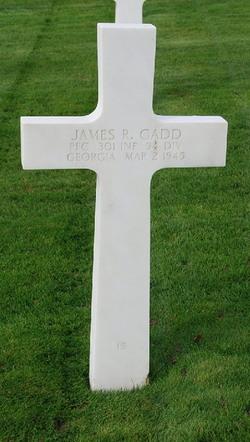 PFC James R Gadd