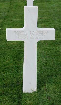 PFC Tony J Nardiello