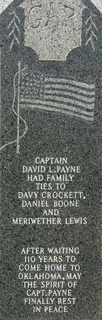 Capt David Lewis Payne