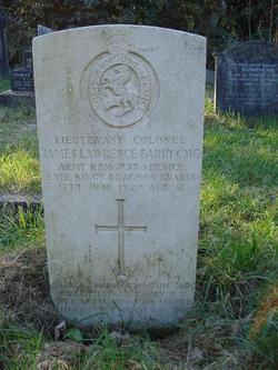 Lieutenant Colonel James Lawrence Barry