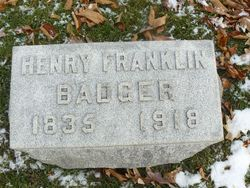 Henry Franklin Badger