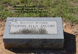 Sophie Ella Jacoby