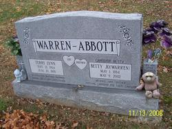 Betty Jo <I>Warren</I> Abbott
