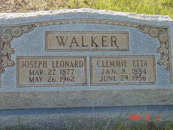 Clemmie Etta <I>Jones</I> Walker