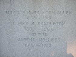 Ellen M <I>Pendleton</I> Allen