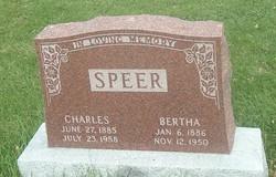 Bertha <I>Berndt</I> Speer