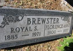 Florence Anne <I>Rhoades</I> Brewster