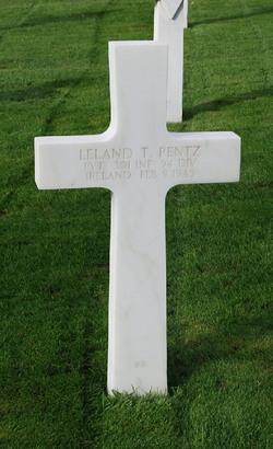 Pvt Leland T. Pentz