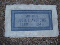 Julia Laurette <I>Morgan</I> Andrews