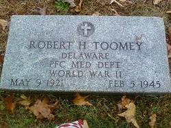 PFC Robert H Toomey