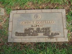 John T. Costello