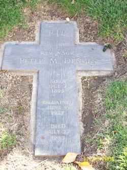 Rev Peter M Denges