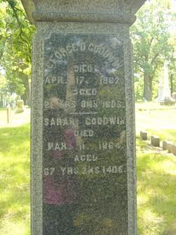 Sarah <I>Crawford</I> Goodwin