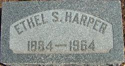 Ethel Sutherland <I>Jones</I> Harper