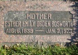 Esther Emily <I>Ogden</I> Bosworth