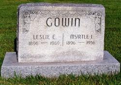 Myrtle Isabelle <I>Humbert</I> Gowin