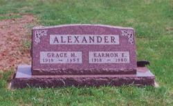 Grace Mary <I>Roe</I> Alexander