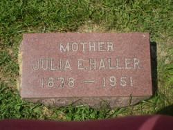 Julia Ella <I>Petty</I> Haller