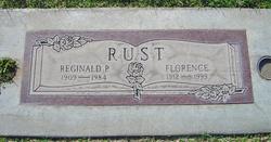 Florence Cecillia <I>Foster</I> Rust