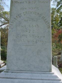 Margaret <I>Crawford</I> Martin