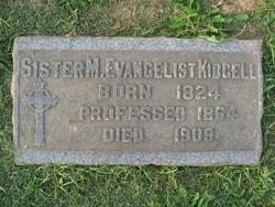 Sr Mary Evangelist Kidgell