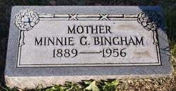 Minnie <I>Gates</I> Bingham