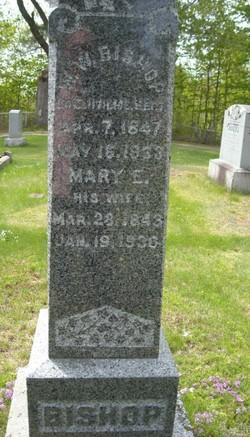 Mary E. <I>Braley</I> Bishop