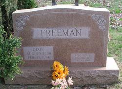Dixie Annalee <I>Jordan</I> Freeman