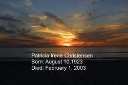Patricia Irene <I>Lanam</I> Christensen