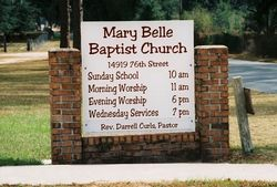Mary Belle Baptist Church Cemetery