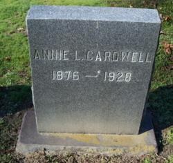 Anna Annie Lee <I>Jones</I> Cardwell
