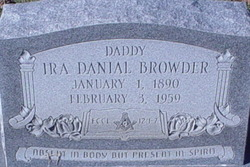 Ira Danial Browder