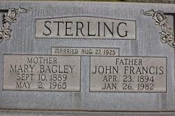 Mary Ellen <I>Bagley</I> Sterling