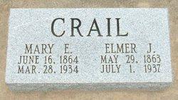 Mary Elvira <I>Tennison</I> Crail