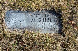 Mary Alice Aleshire