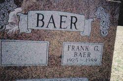 Frank George Baer