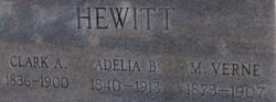 Adelia <I>Barnett</I> Hewitt
