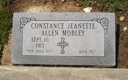 Constance Jeanette <I>Allen</I> Mobley