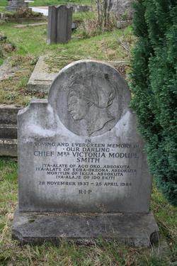 """Victoria Modupe """"Chief"""" Smith"""