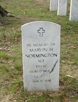 SGT Marvin H Normington