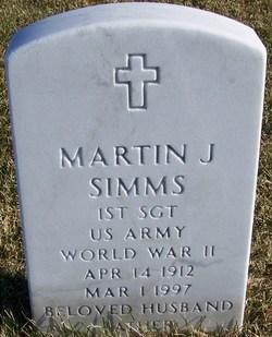 Martin J Simms