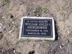 "William Lee ""Billy"" Abercrombie"
