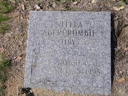 "Stella Marie ""Tiny"" <I>Rutledge</I> Abercrombie"
