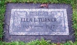 Ella Lavina <I>Schlegel</I> Turner