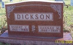 Hannah M <I>Eilts</I> Dickson