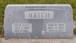 Marvin Muir Hatch