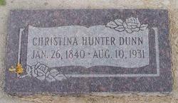 Christina <I>Hunter</I> Dunn