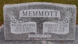 Forrest Ross Memmott