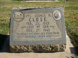 PFC George M Close